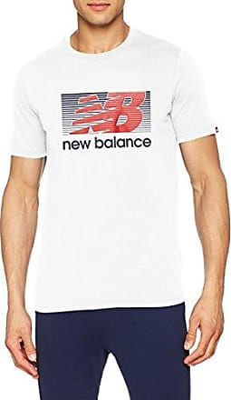 New Balance pour Homme Rally Classique Polo, Homme, Blanc, XX-Large