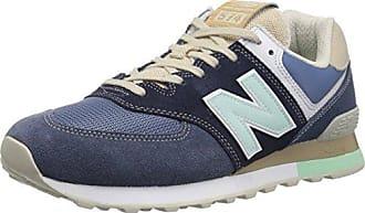 New Balance Ml574v2, Sneaker Uomo, Blu/Indaco (Navy/Indigo), 40.5 EU