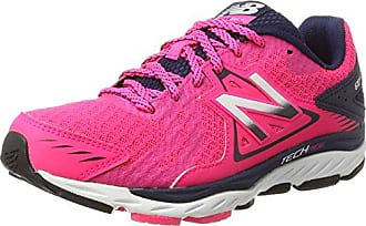 New Balance 670v5, Zapatillas Deportivas para Interior para Mujer, Gris (Grey/Pink), 36 EU