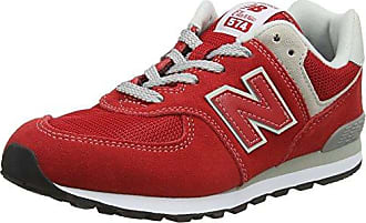 New Balance Iv574v1, Zapatillas Unisex Niños, Rojo (Red/Grey), 18.5 EU