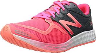 New Balance Unisex-Kinder Laufschuhe, Pink (Pink/White), 33 EU (1 UK)