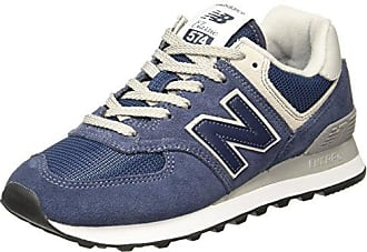 New Balance U420 D, Baskets mode mixte adulte, Bleu (Blue/White), 40.5 EU (7 UK )
