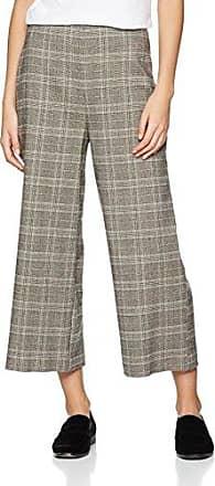 New Look Check Paperbag Waist, Pantalones para Mujer, Marrón (Brown Pattern 29), 42