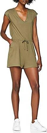 New Look Petite Ashton Lurex, Mono Corto para Mujer, Verde (Green Pattern 39), 34