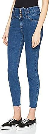 Womens Doughnut Angle Hem Skinny Jeans New Look bNNBvy
