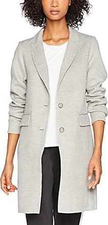New Look Emmy Collar Belted, Abrigo para Mujer, Gris (Light Grey 2), 36