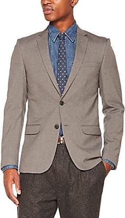 Everymans, Veste Homme, Gris (Mid Grey), 42RNew Look