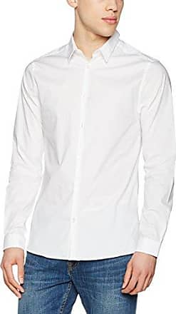 Muscle Fit, Chemise Habillée Homme, Blanc (White), X-Large (Taille Fabricant: 54)New Look
