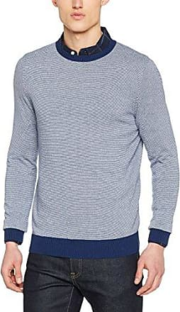 Mens Fine Stripe Crew Jumper New Look Brand New Unisex Cheap Price Get The Latest Fashion Wholesale Price Cheap Price Sale Footaction oCi0nNo