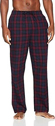 New Look Red Check Long, Pantalones de Pijama para Hombre