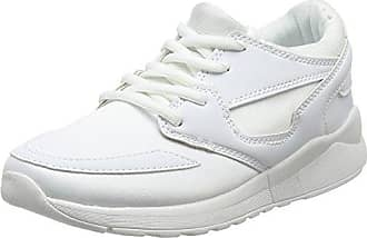 Wide Foot Meshy, Sneaker Donna, Bianco (White 10), 36 EU New Look