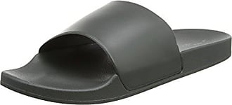 Perry Slider, Sandales Bout Ouvert Homme, Noir (Black 1), LNew Look