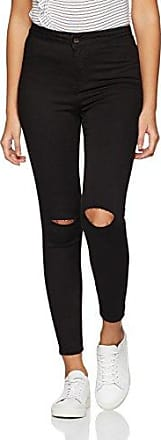 New Look Stratford Knee Slash Disco, Vaquero para Mujer, Negro, W4/L28