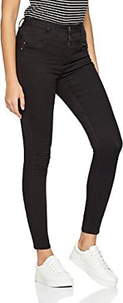 New Look Tall Stratford Highwaisted, Vaqueros Skinny para Mujer, Negro (Black 01), 12/L36