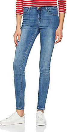 New Look EMB Mom Sunflower, Jean Droit Femme, (Light Blue 45), 36W x 32L (Taille Fabricant: 18L32)