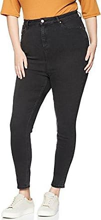 Curves Womens Washed Black Jet Skinny Jeans New Look 9t10W