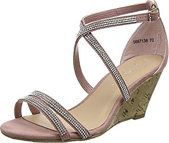 Wide Foot Future - Sandales à Talon - Femme - Blanc (Blanc) - 36 (UK 3)New Look Y53sq