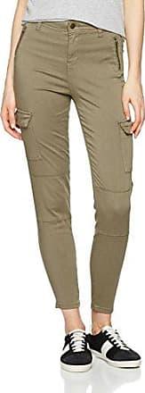 New Look Cargo Utility, Pantalones para Mujer, Verde (Dark Khaki 34), 34