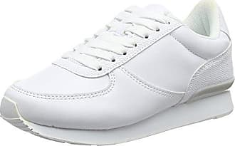 3810173, Sneakers Basses Femme - Blanc - Blanc (White/10), 36New Look