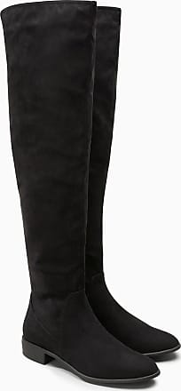 Kniehohe Sock-Boots, schwarz, Black Next
