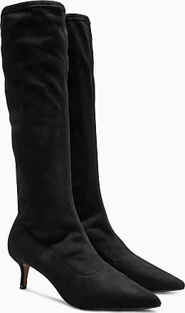 Next Kniehohe Sock-Boots, schwarz, Black