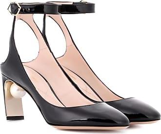 Nicholas Kirkwood Woman Tortoiseshell Patent-leather Sandals Animal Print Size 38.5 Nicholas Kirkwood D4sEqmrum