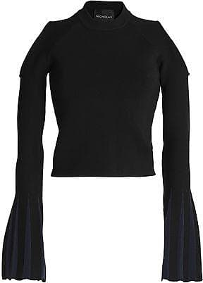 High Quality Cheap Online Nicholas Woman Long Sleeved Black Size L Nicholas Free Shipping Finishline For Sale Cheap Price From China Cheap Factory Outlet WqKQwhfmpQ