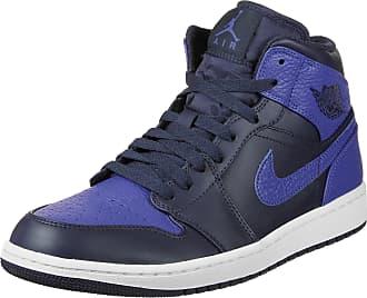 Nike, Uomo, Dunk Hi, Suede / Pelle, Sneakers Alte, Grigio, 40.5 EU