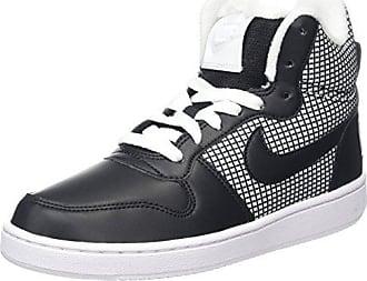 Nike Court Borough Se, Chaussures de Basketball Femme, Blanc Cassé (White/White/Black), 42 EU