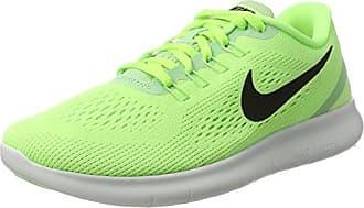 Nike Free RN, Scarpe da Ginnastica Basse Donna, Verde (Ghost Grn/Blk-Fresh MNT-off Wht), 40.5 EU