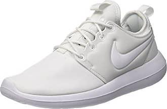 Nike Roshe One Se, Chaussures de Tennis Homme, Blanc Cassé (White/White/Pure Platinum/Pure Platinum), 45 EU