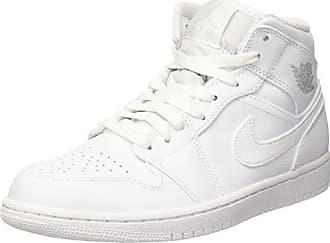 Nike - Air Jordan 1 - Baskets mi-hautes - Blanc 554724-104 - BlancNike 6l9BPlHu
