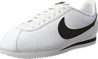 Classic Cortez Leather, Zapatillas de Trail Running para Hombre, Blanco (White/White/White 111), 42.5 EU Nike