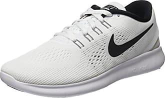 Nike Free Run 2017, Chaussures de Running Homme, Blanc (White/Black-Pure Gris Platinum), 46 EU