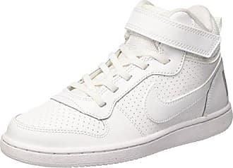 Nike Court Borough Low (TDV), Zapatillas de Estar por Casa Bebé Unisex, Blanco (White/White 100), 21 EU