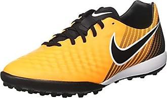 Tiempox Finale TF, Botas de Fútbol Hombre, Negro (Black/White-Laser Orange-Vert Volt-Black), 40 EU Nike
