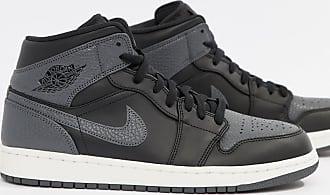 Air Jordan Nike Nere 554724041 Ginnastica Nero Da Alte Scarpe 1 Y6CqpYw