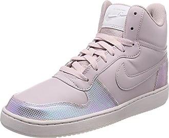 Mens Court Borough Mid Gymnastics Shoes, Black (Black M T L C Pewterkhakiwhite 005), 6 UK Nike
