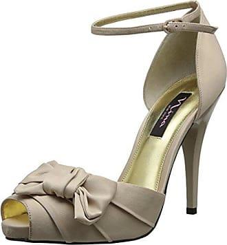 Nina Bridal Electra, Damen Fashion-Sandalen, Silber (Silver), 37 EU