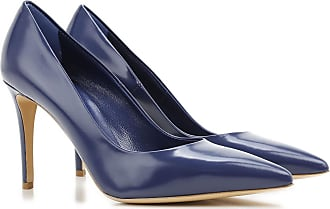 Pumps & High Heels for Women On Sale in Outlet, China Blue, Leather, 2017, 6 Nina Lilou