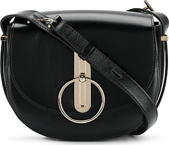 Shoulder Bag for Women On Sale, Dark Turtledove, suede, 2017, one size Nina Ricci