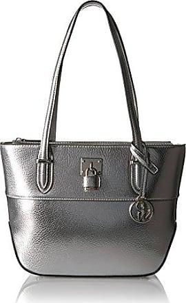 Tote Bag, Silver, Patent, 2017, one size NICOPANDA