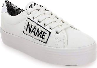 Plato Sneaker Patent/Polar, Baskets Basses Femme, Bleu (Navy/Navy), 40 EUNo Name