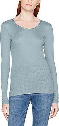Noa Basic Lace, Camiseta de Manga Larga para Mujer, Azul (Pearl Blue 650), L