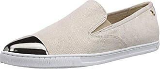 Violet - Zapatillas de casa de piel mujer, color blanco, talla 39 Nobrand