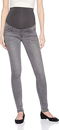 Cheapest Price Sale Online Pay With Paypal Cheap Online Maternity Distressed Skinny Over The Bump Jeans With Adjustable Waist - C303 grey blue denim Noppies Sale With Credit Card SeuxNCJg