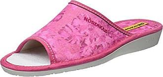 Lotus Kale, Zapatillas de Estar por Casa para Mujer, Rosa (Rosa), 38 EU