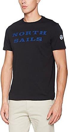 S/S W/Print, Camiseta para Hombre, Azul (Ocean Blue 0790), M North Sails