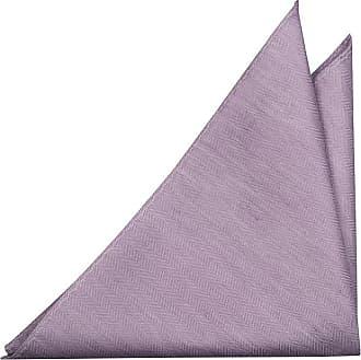 Mouchoir - Solide Violet Avec Des Taches Jaunes Rouges Et Bords Pourpres Encoche DYHLEx3