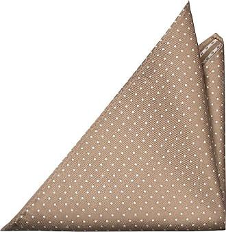 Handkerchief - Dark beige wool knit with white edges - Notch ARNAUD Notch Qp9AjqES